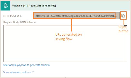 HTTP Post URL