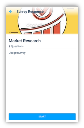 survey response view