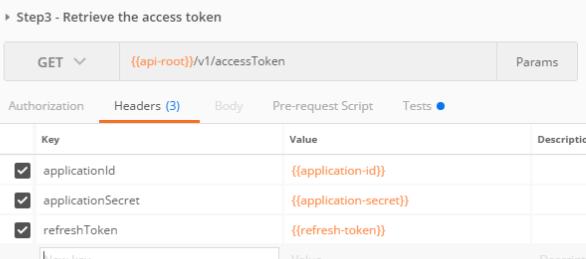 generating access token