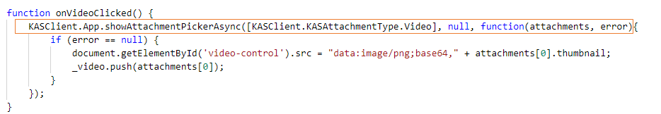 Adding attachments in custom actions – Tinkering with Kaizala